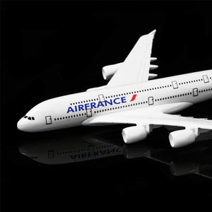 GearNets Model Aircraft 1:400 16cm France Airbus A380 Metal Airplane Model