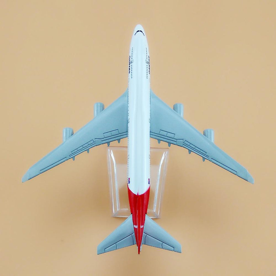GearNets Model Aircraft 1:400 16cm The B747-400 Qantas Metal Airplane Model Plane