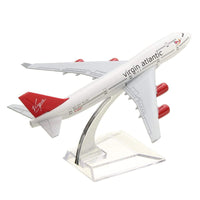 GearNets Model Aircraft 160mm Metal B747 VIRGIN ATLANTIC