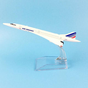 GearNets Model Aircraft 16CM AIR FRANCE CONCORDE MODEL AIRCRAFT