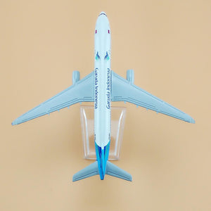 GearNets Model Aircraft 16cm Air Garuda Indonesia Airlines Airbus 330 Model Aircraft