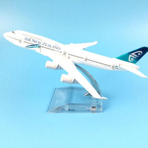 GearNets Model Aircraft 16CM Air New Zealand Airlines Airplane The 747-400