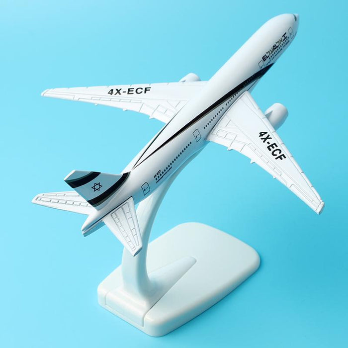 GearNets Model Aircraft 16cm Alloy Metal Air El Al Israel Airlines The 777