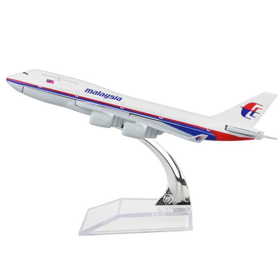 GearNets Model Aircraft 16cm The 747 Malaysia Airlines airplane models