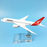 GearNets Model Aircraft 16cm The B787 Qantas Metal Airplane Model Plane