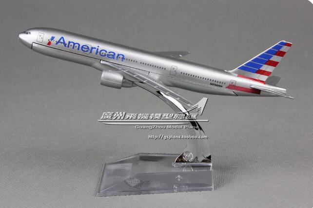 GearNets Model Aircraft Air American The 777
