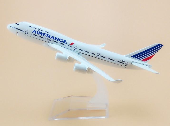GearNets Model Aircraft Air France Airlines The 747