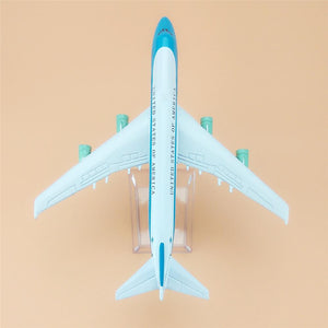 GearNets Model Aircraft America Air Force One The 747