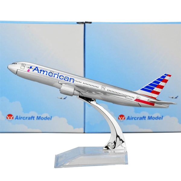GearNets Model Aircraft American Airlines The 777