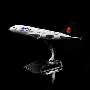 GearNets Model Aircraft Germany Lufthansa Airbus A380