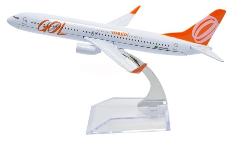 GearNets Model Aircraft GOL Airlines The 737