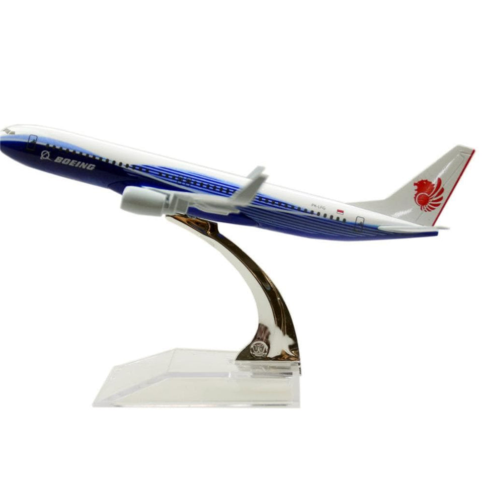 GearNets Model Aircraft Lion Blue The 737