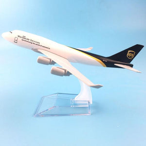GearNets Model Aircraft Metal Air UPS Airlines The B747 400