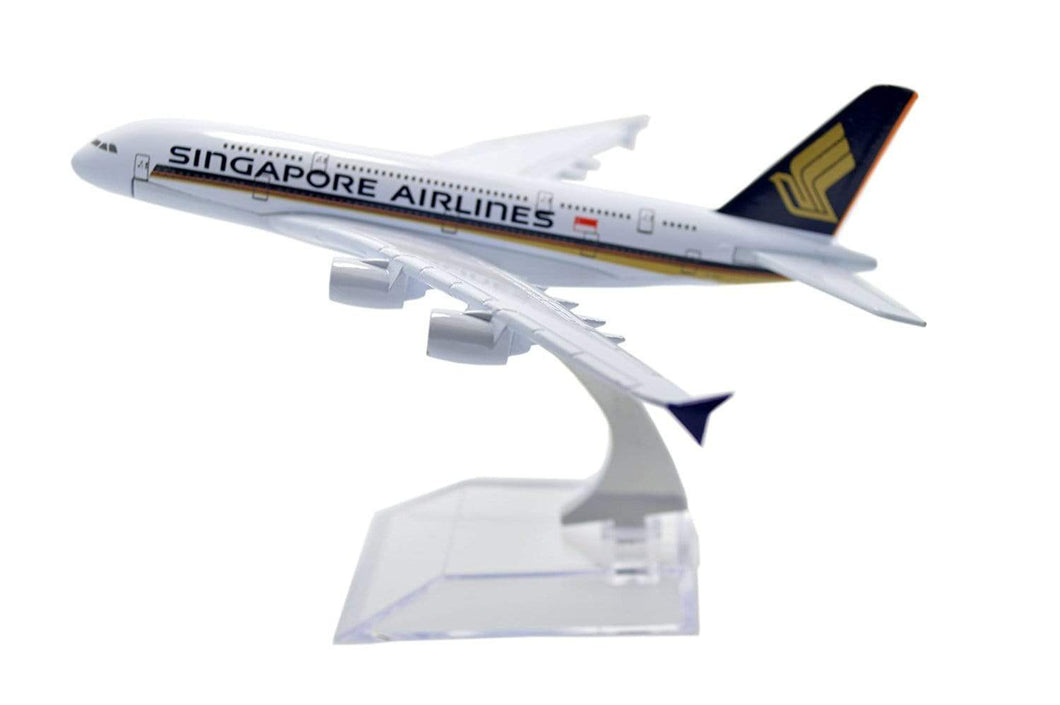 GearNets Model Aircraft Singapore Airbus A380