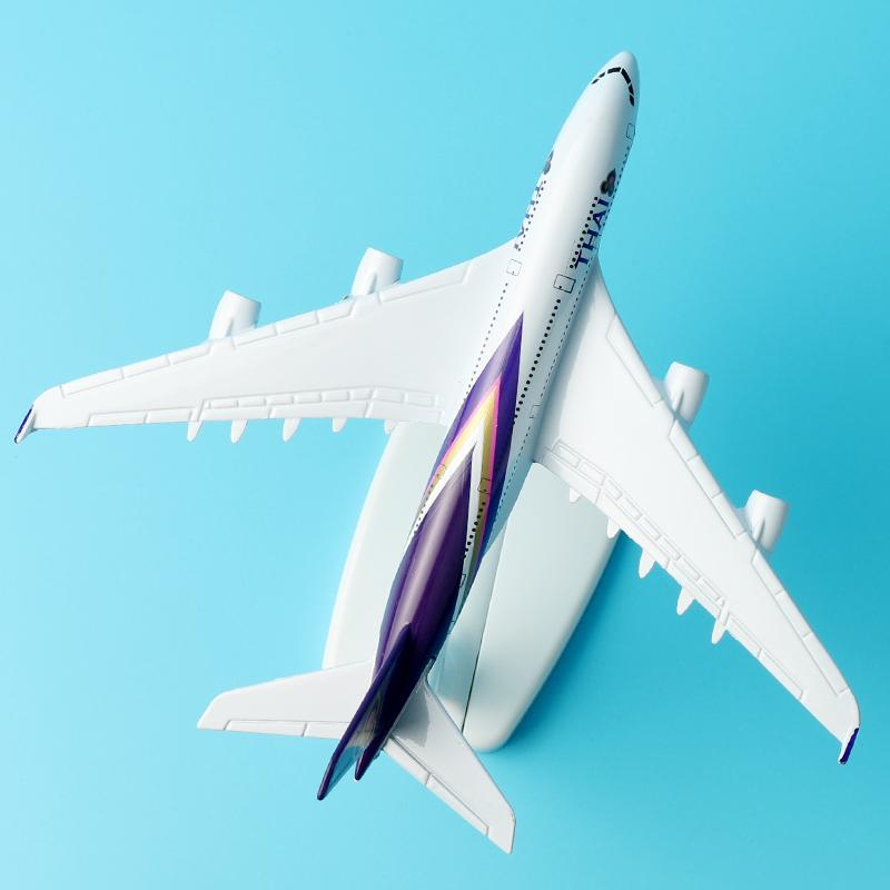 GearNets Model Aircraft Thai Airways Airbus A380