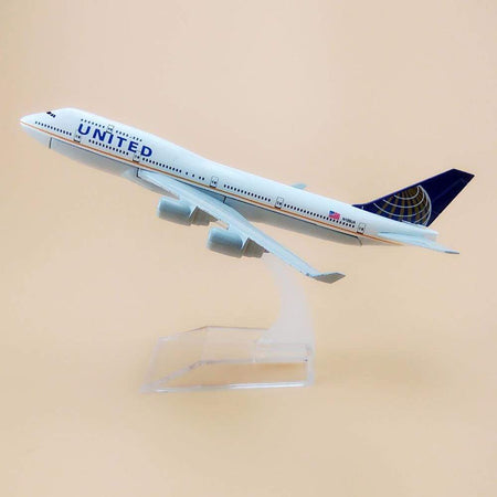 GearNets Model Aircraft The 747 400 United Airline