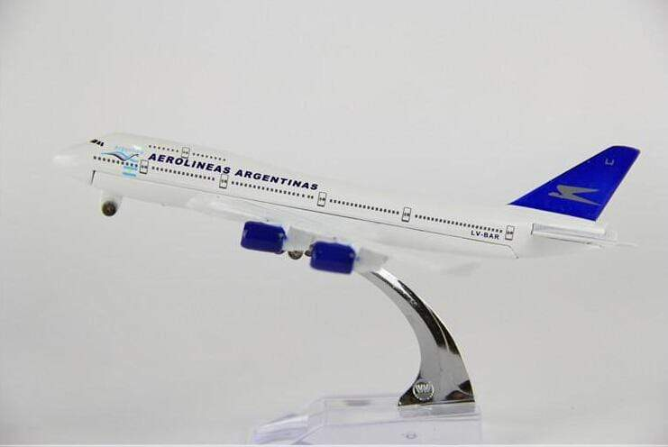 GearNets Model Aircraft The 747 Argentina Airlines