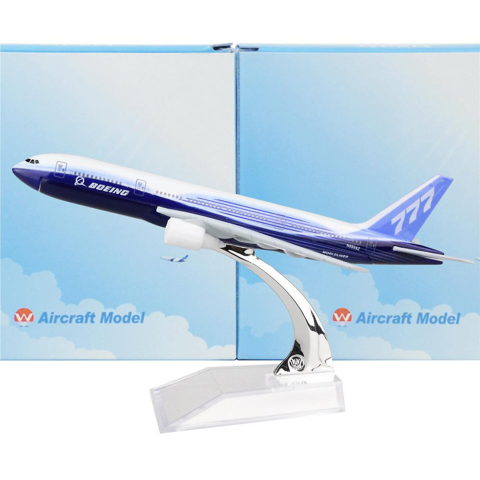 GearNets Model Aircraft The 777 16cm Airplane
