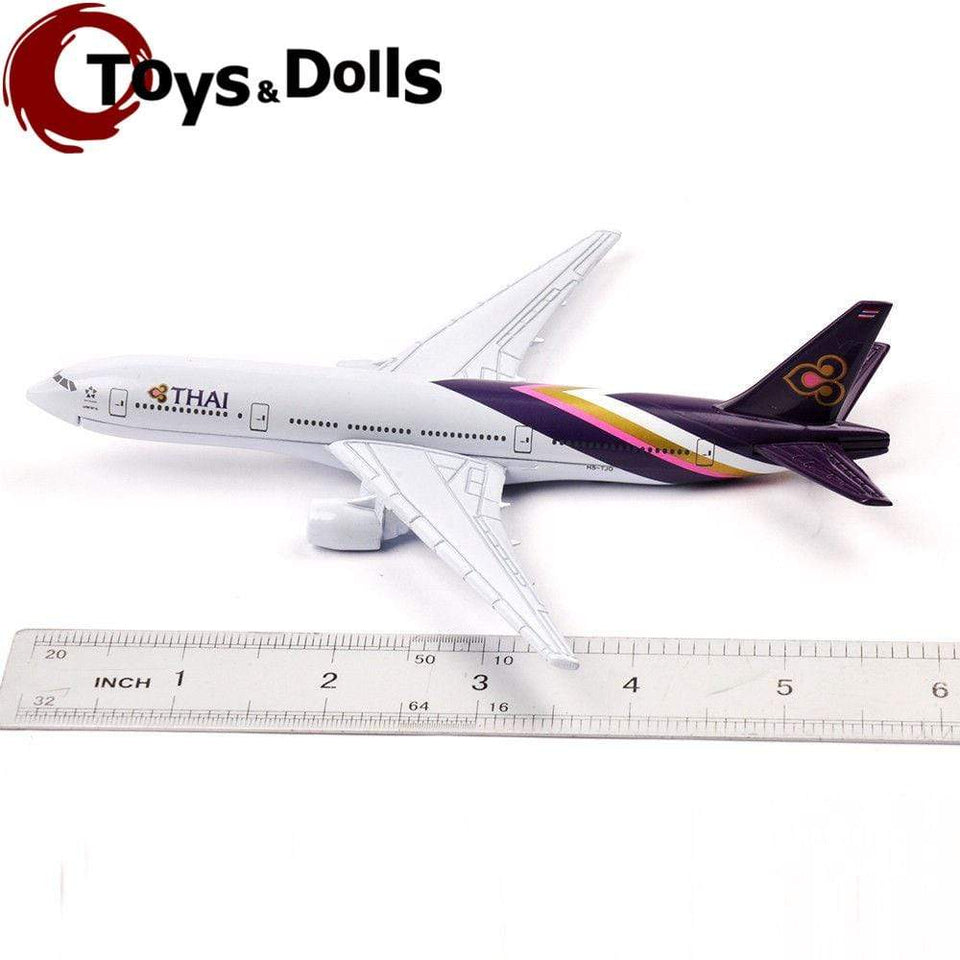 GearNets Model Aircraft The B777 Thai Airways Metal Airplane