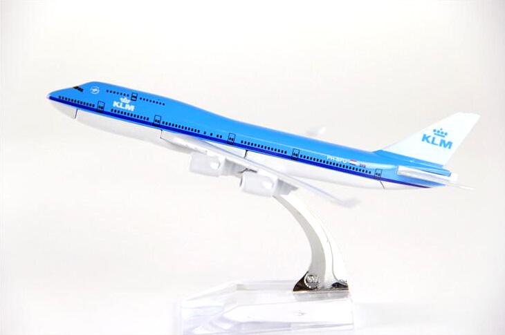 GearNets Model Aircraft The747 KLM Royal Dutch Airlines