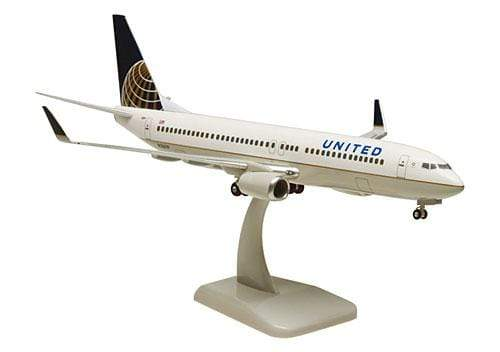 GearNets Model Aircraft UNITED Airlines The 737