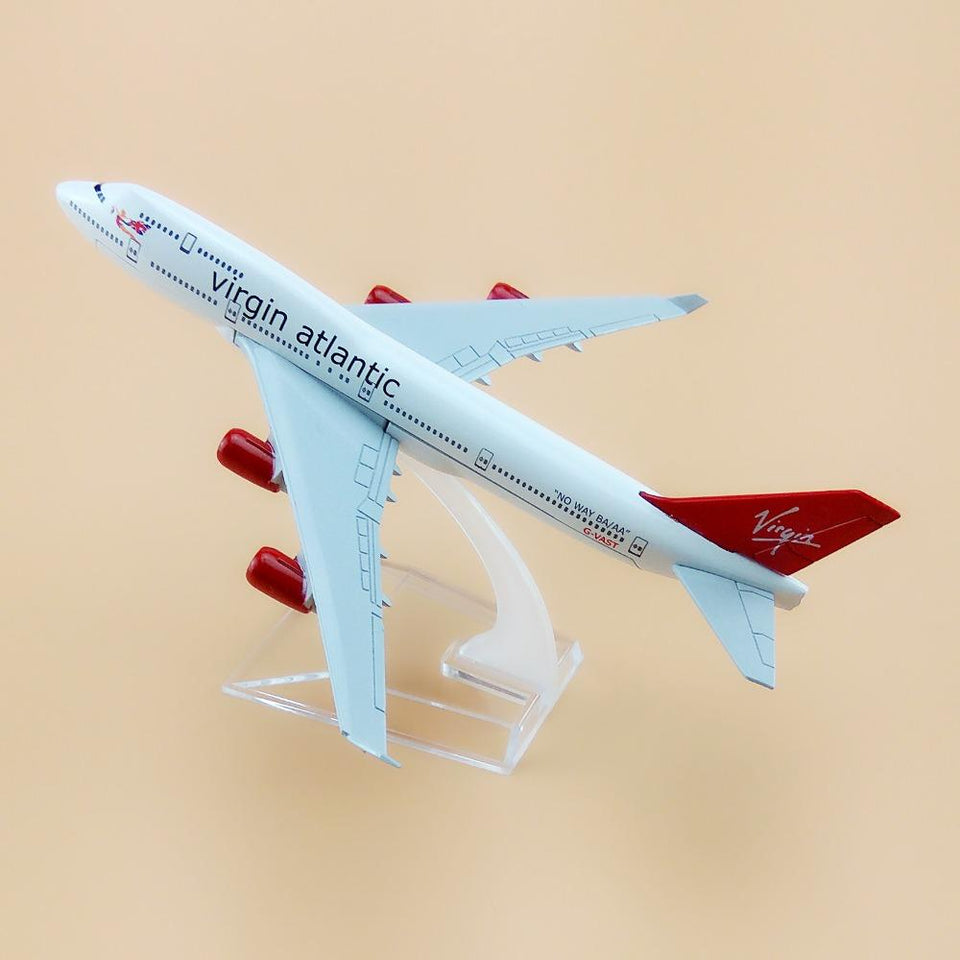 GearNets Model Aircraft Virgin Atlantic Airways The 747