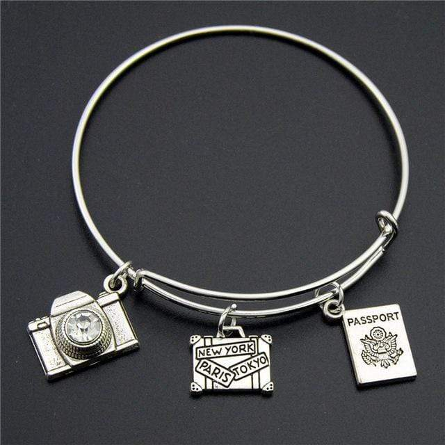 GearNets New York + Passport Traveling The World Bracelet
