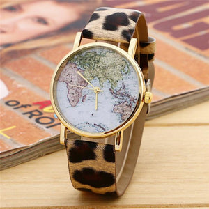 GearNets Other World Map Watch