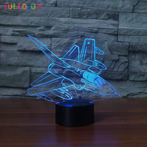 GearNets Panavia Tornado GR1 3D LAMP 8 changeable colors