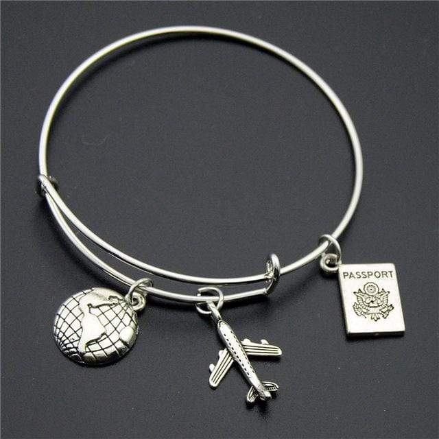 GearNets Passport + World Traveling The World Bracelet