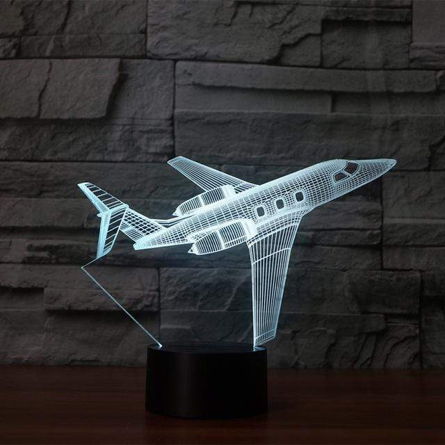 GearNets Private JET 3D LAMP 7 changeable colors