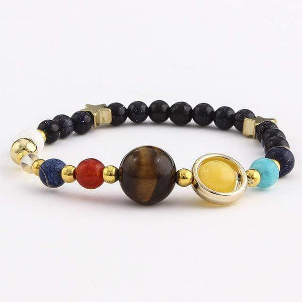 GearNets NEW! UNIVERSE INSPIRED PLANET BRACELET - EASILY ADJUSTABLE