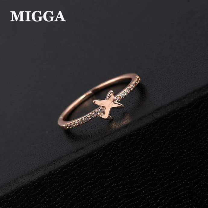 GearNets Trendy Cute Aircraft Air Plane Finger Ring