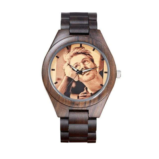 GearNets wood band Customized Photo Wooden Watch
