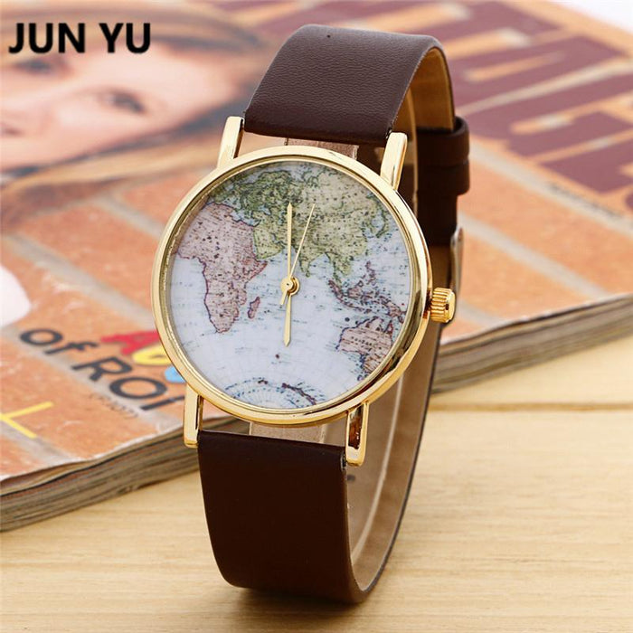 GearNets World Map Watch