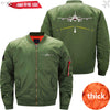MA1 Jacket Army green thick / XS Runway Light