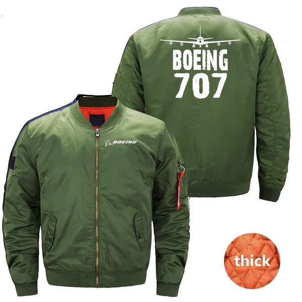 MA1 Jacket Dark blue thick / XS The 707