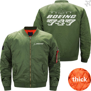MA1 Jacket Army green thick / XS The 747