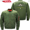 MA1 Jacket Army green thin / XS Runway Light
