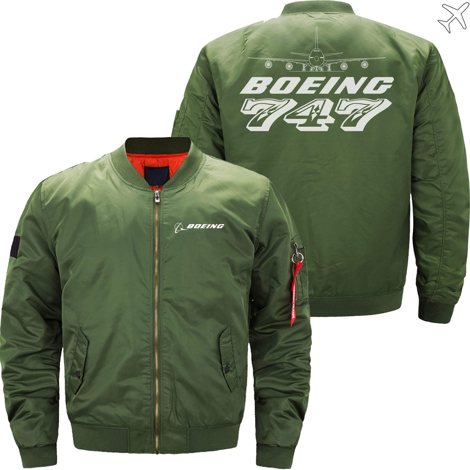 MA1 Jacket Army green thin / XS The 747