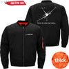 MA1 Jacket Black thick / S THIS IS HOW WE ROLL B737