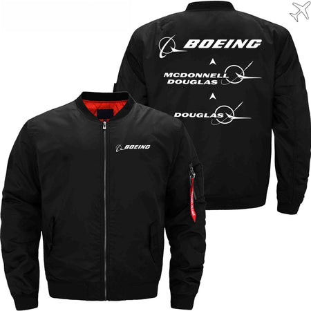 MA1 Jacket Black thin / S The, MCDONNELL DOUGLAS, DOUGLAS
