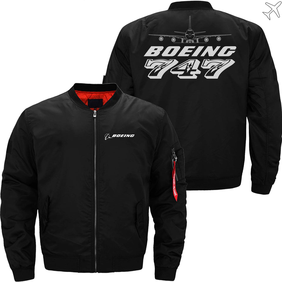 MA1 Jacket Black thin / XS The 747