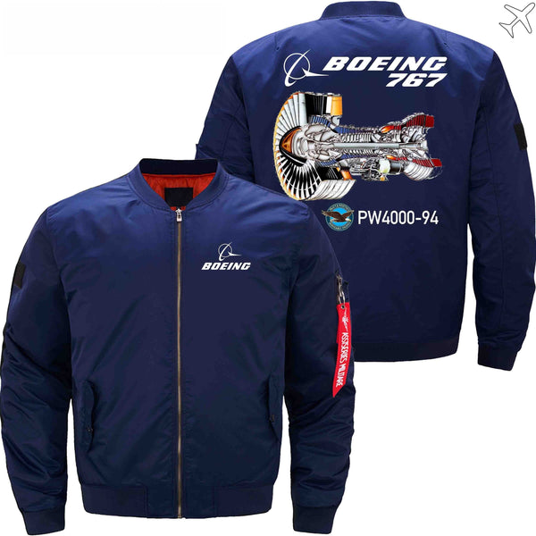 MA1 Jacket Dark blue thick / S The 767 PW4000-94