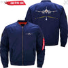 MA1 Jacket Dark blue thin / XS Runway Light
