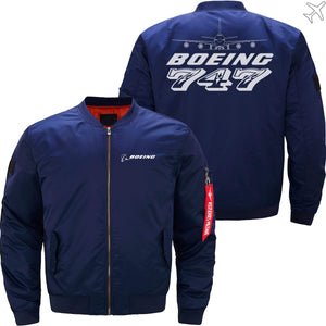 MA1 Jacket Dark blue thin / XS The 747