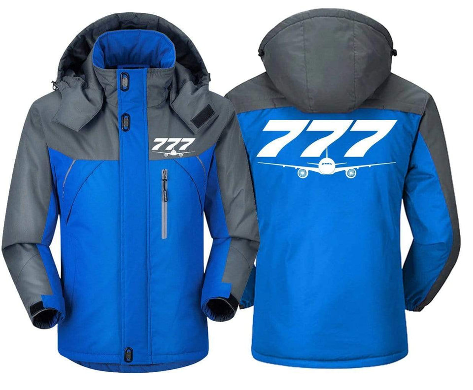 MA1 Windbreaker Jackets Blue Gray / XS Boeing-777