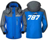 MA1 Windbreaker Jackets Blue Gray / XS Boeing-787