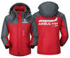 MA1 Windbreaker Jackets Red Gray / XS Airbus A350 XBW