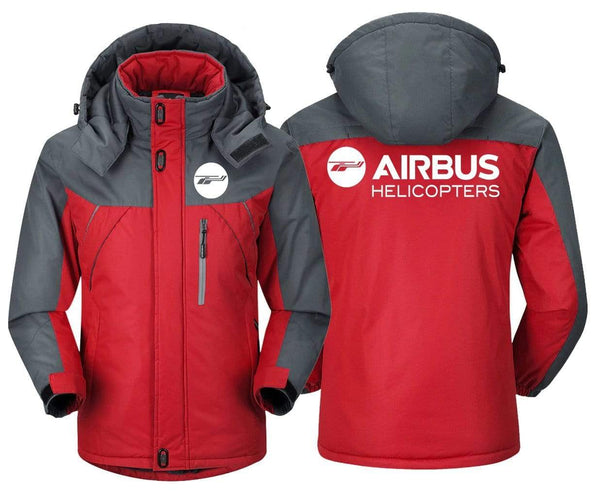 MA1 Windbreaker Jackets Blue Gray / XS AIRBUS -HELICOPTER